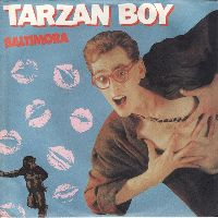 Cover Baltimora - Tarzan Boy