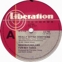 Cover Bananarama & Fun Boy Three - Really Saying Something