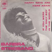 Cover Barbra Streisand - Happy Days Are Here Again