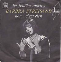 Cover Barbra Streisand - Les feuilles mortes (Autumn Leaves)
