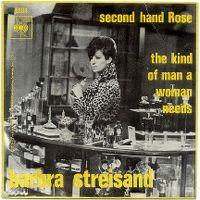 Cover Barbra Streisand - Second Hand Rose