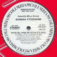 Cover Barbra Streisand - Shake Me, Wake Me (When It's Over)