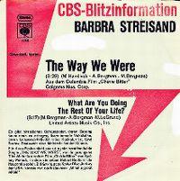 Cover Barbra Streisand - The Way We Were