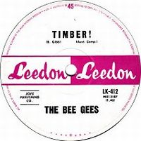 Cover Barry Gibb And The Bee Gees - Timber!