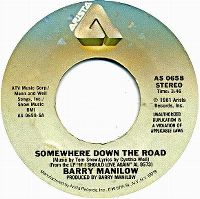 Cover Barry Manilow - Somewhere Down The Road