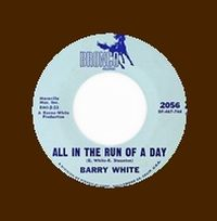 Cover Barry White - All In The Run Of A Day