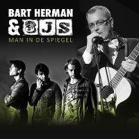 Cover Bart Herman & 3js - Man in de spiegel