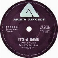 Cover Bay City Rollers - It's A Game