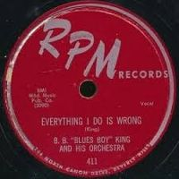 "Cover B.B. ""Blues Boy"" King - Everything I Do Is Wrong"