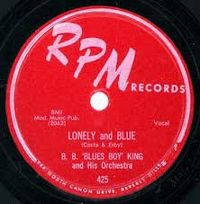 "Cover B.B. ""Blues Boy"" King - Lonely And Blue"