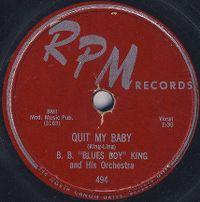 """Cover B.B. """"Blues Boy"""" King - Quit My Baby"""