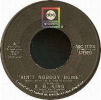 Cover B.B. King - Ain't Nobody Home