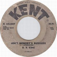 Cover B.B. King - Ain't Nobody's Business