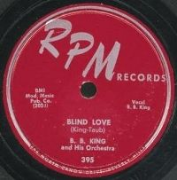 Cover B.B. King - Blind Love