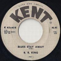 Cover B.B. King - Blues Stay Away