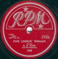 Cover B.B. King - Fine Lookin' Woman