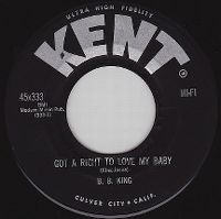 Cover B.B. King - Got A Right To Love My Baby