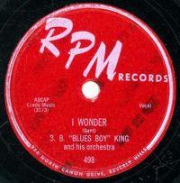Cover B.B. King - I Wonder