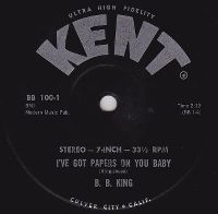 Cover B.B. King - I've Got Papers On You Baby