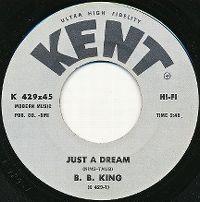 Cover B.B. King - Just A Dream