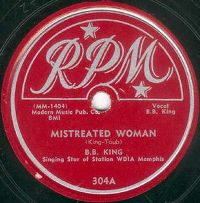 Cover B.B. King - Mistreated Woman