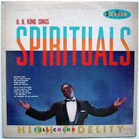 Cover B.B. King - Sings Spirituals