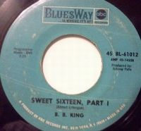 Cover B.B. King - Sweet Sixteen