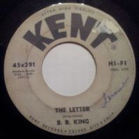 Cover B.B. King - The Letter