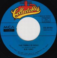 Cover B.B. King - The Thrill Is Gone