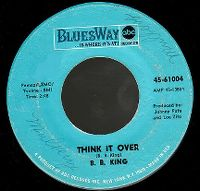 Cover B.B. King - Think It Over