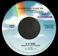 Cover B.B. King - To Know You Is To Love You