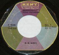 Cover B.B. King - Worried Life