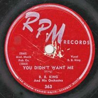 Cover B.B. King - You Didn't Want Me