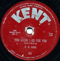 Cover B.B. King - You Know I Go For You