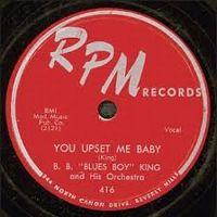 Cover B.B. King - You Upset Me Baby