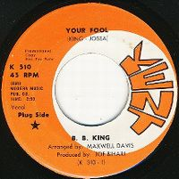 Cover B.B. King - Your Fool