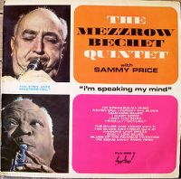 Cover Bechet / Mezzrow Quintet - I'm Speaking My Mind