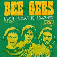 Cover Bee Gees - Don't Forget To Remember