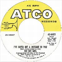 Cover Bee Gees - I've Gotta Get A Message To You