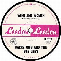 Cover Bee Gees - Wine And Women