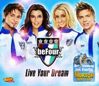 Cover beFour - Live Your Dream