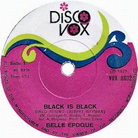 Cover Belle Epoque - Black Is Black