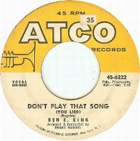 Cover Ben E. King - Don't Play That Song (You Lied)