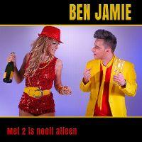 Cover Ben Jamie - Met 2 is nooit alleen