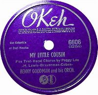 Cover Benny Goodman And Peggy Lee - My Little Cousin