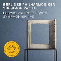 Cover Berliner Philharmoniker / Sir Simon Rattle - Ludwig van Beethoven: Symphonien 1-9