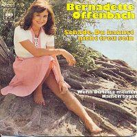 Cover Bernadette Offenbach - Schade, Du kannst nicht treu sein
