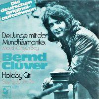 Cover Bernd Clüver - Der Junge mit der Mundharmonika