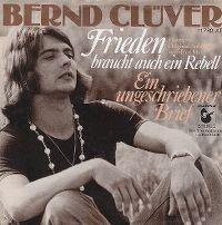 Cover Bernd Clüver - Frieden braucht auch ein Rebell