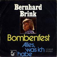 Cover Bernhard Brink - Bombenfest